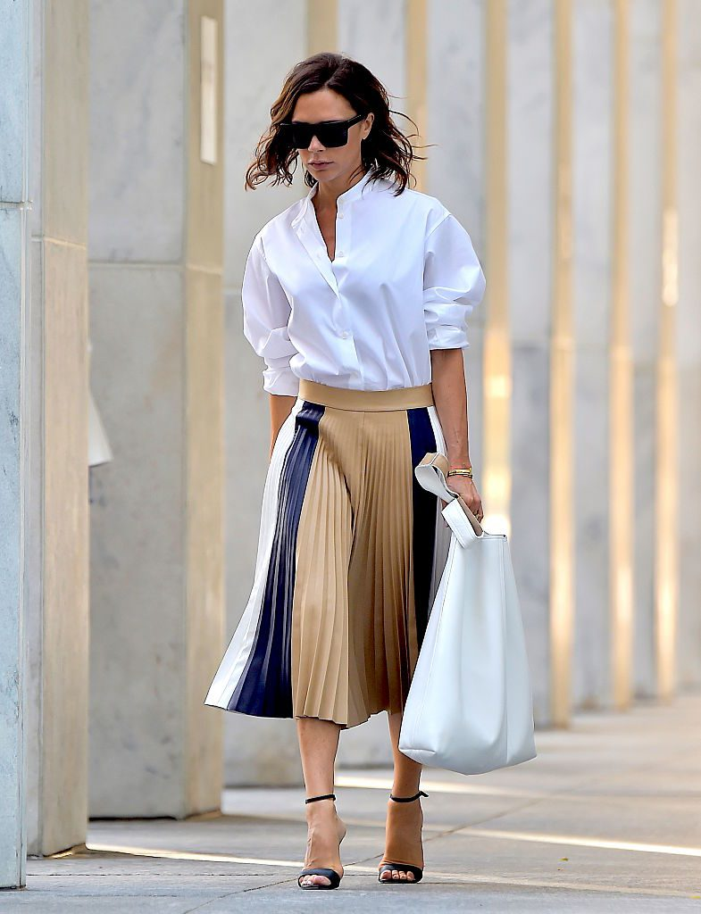 NEW YORK, NY - SEPTEMBER 14: Victoria Beckham is seen in midtown on September 14, 2016 in New York City. (Photo by Alo Ceballos / GC Images)