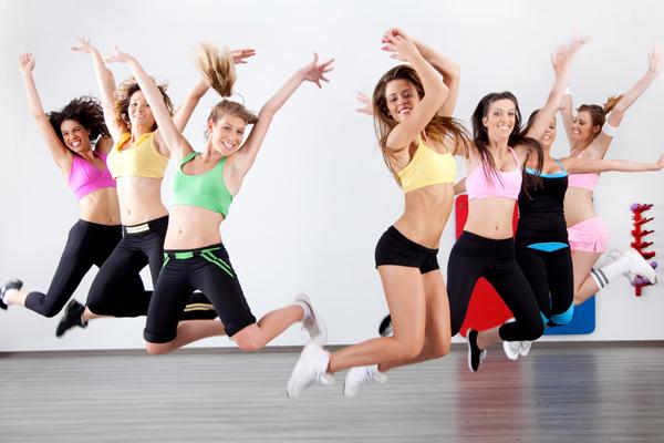 Фитнес момичета