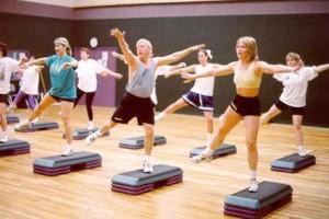 Basic Steps in Step Aerobics