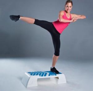 Step aerobics performance