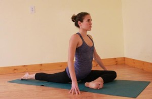 Yoga is a good way to develop body flexibility.