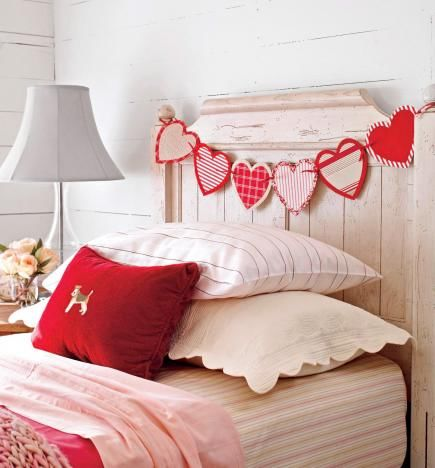 Valentine-s-Day-Fabric-Heart-Garland-For-Decoration