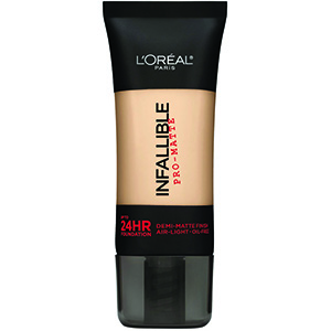 L'Oréal - Париж- непогрешим -24H-Matte -Образяващ- Фондация -555