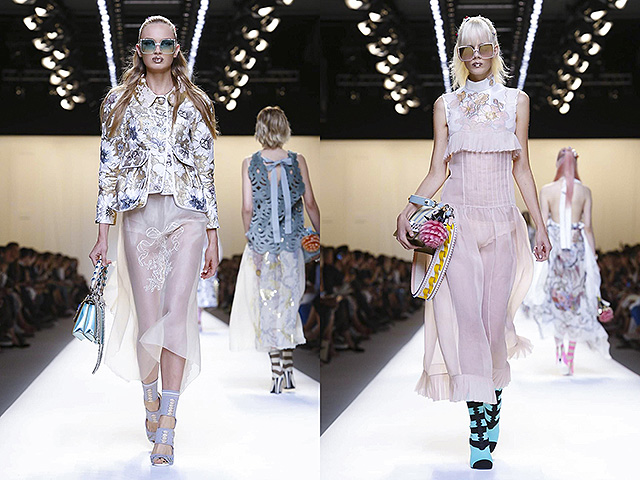 Collection Spring Summer 2017 in Milan