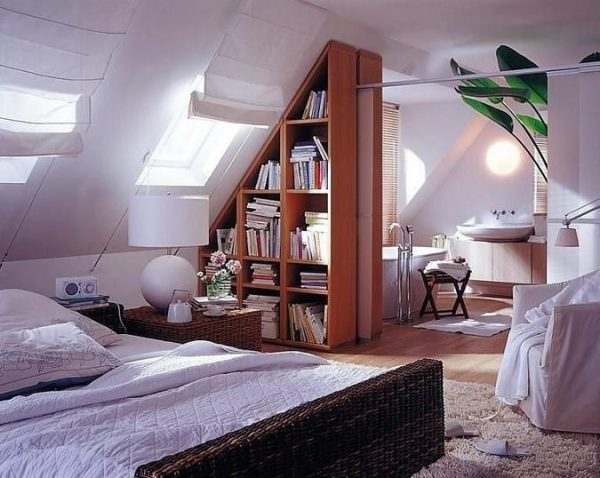 How -to- make- a -bedroom - in- the- attic-888