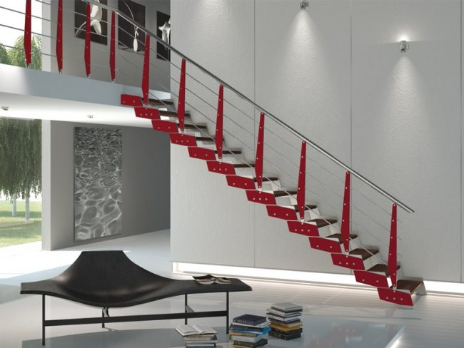 Staircase- in- the- interior- of- the- house-555-11