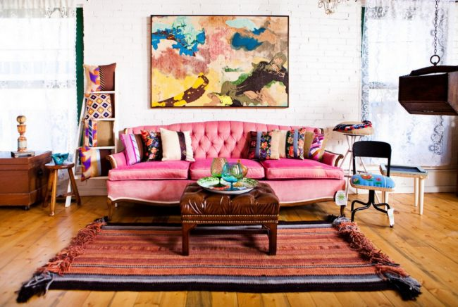 The- best- ideas -of- the- Boho-style- in- the- interior-666-12