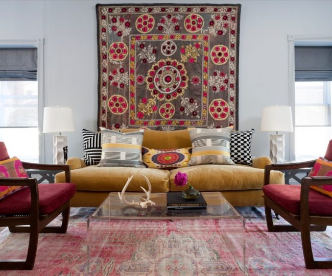 The- best- ideas -of- the- Boho-style- in- the- interior-666-15