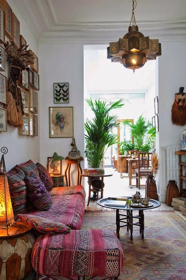 The- best- ideas -of- the- Boho-style- in- the- interior-666-6