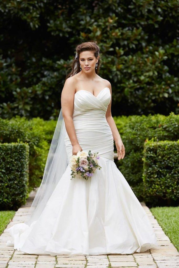 Плюс размер-сватбени рокли-888