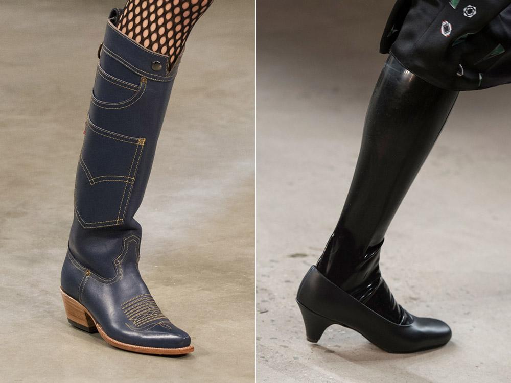 Модни ботуши- есен-зима -2017-2018-888-28
