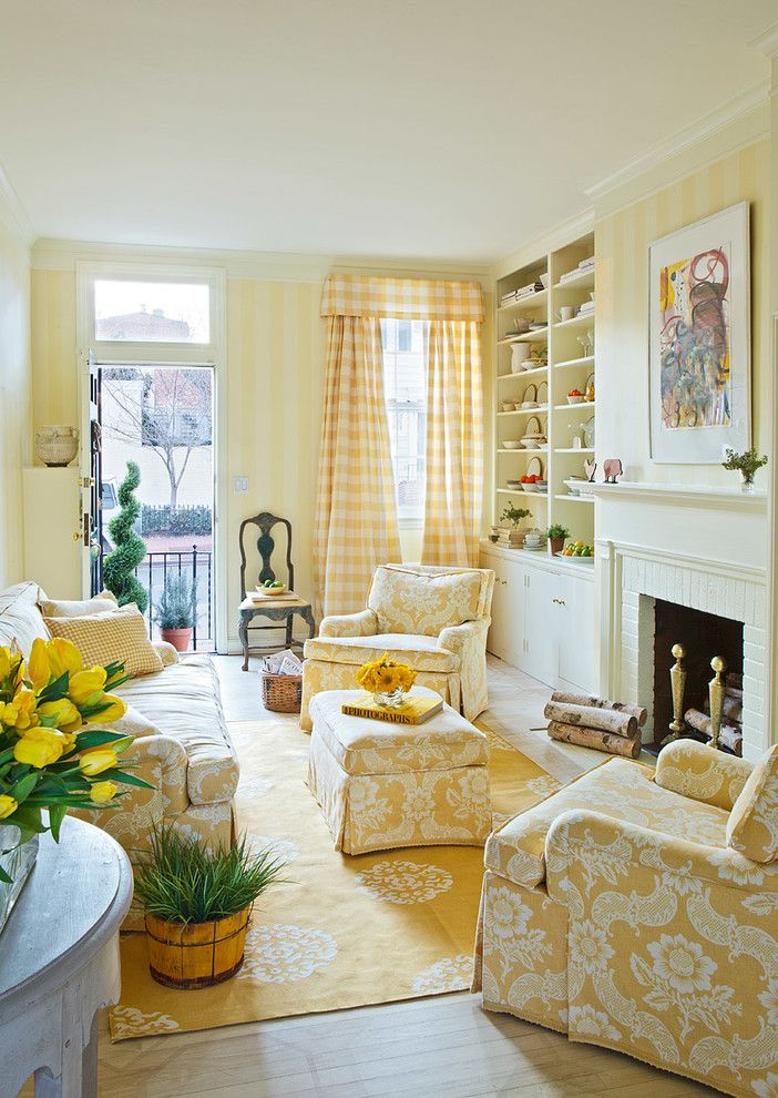 Beautiful- design- Yellow- in- the- interior- of- your- house-888-13