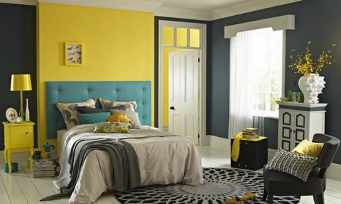 Beautiful- design- Yellow- in- the- interior- of- your- house-888-16