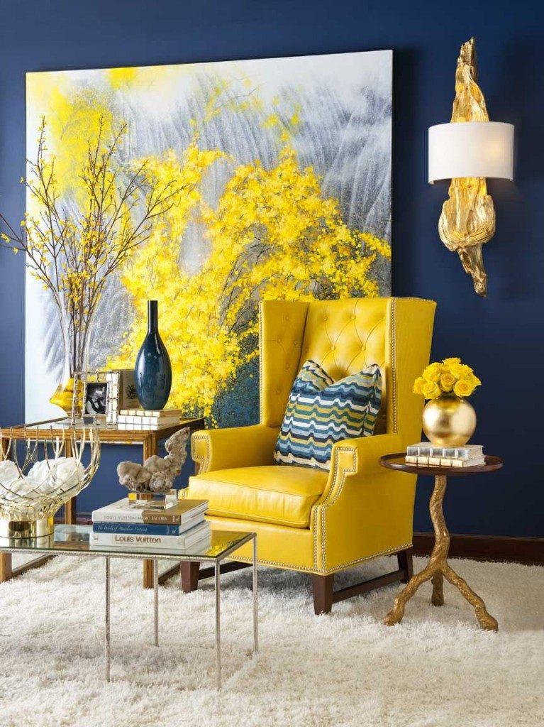 Красив дизайн - жълт в интериора на вашия дом-888-8