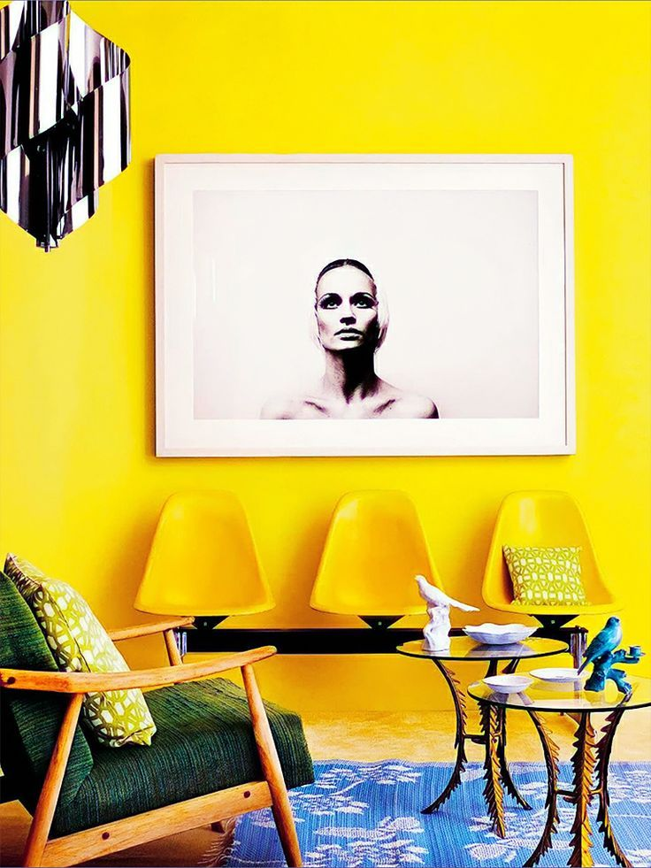 Beautiful- design- Yellow- in- the- interior- of- your- house-888