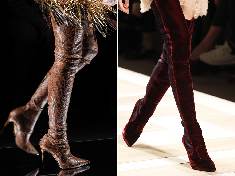 Fashionable- shoes- autumn-winter -2017-2018 - the main- trends_balmain_fendi-666