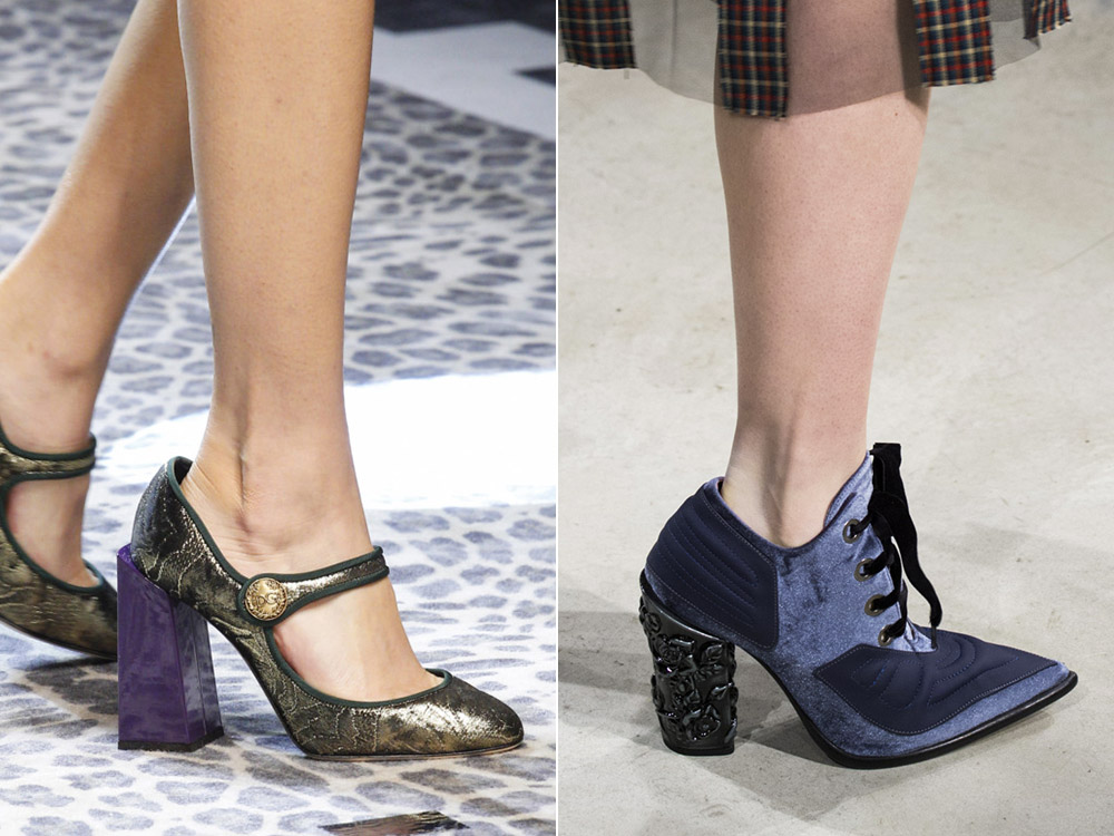 Fashionable- shoes- autumn-winter -2017-2018 - the main- trends_dolce_gabbana_antonio_marras-666