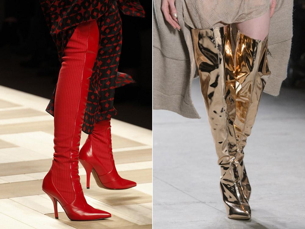 Fashionable- shoes- autumn-winter -2017-2018 - the main- trends_fendi_nicholas_k-666