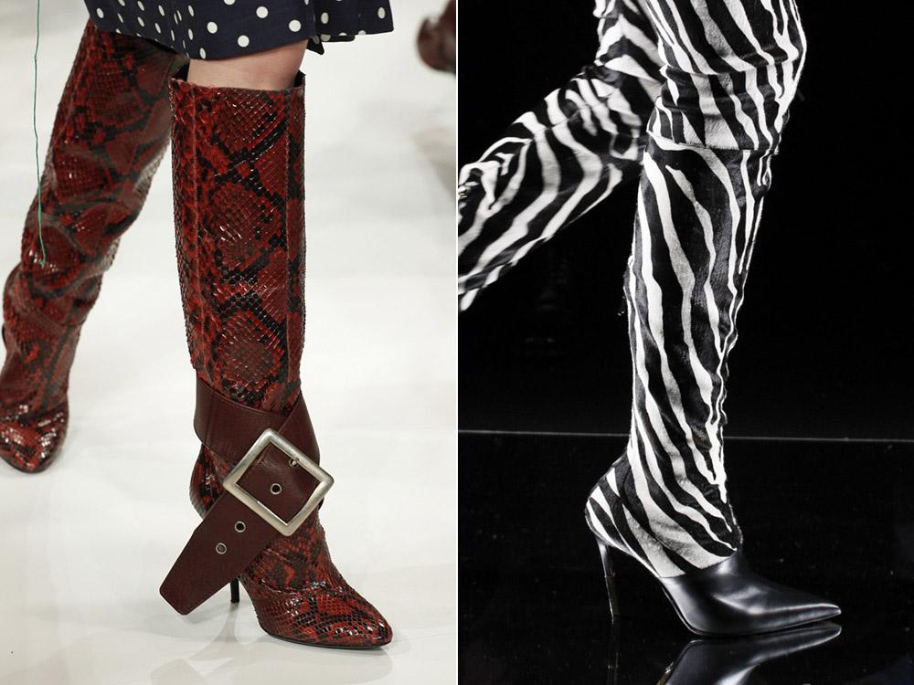 Fashionable- shoes- autumn-winter -2017-2018 - the main- trends_maison_margiela_balmain-666
