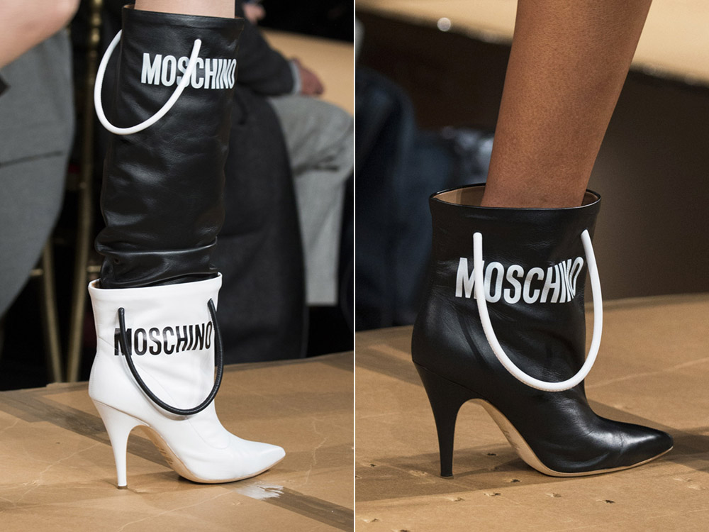 Fashionable- shoes- autumn-winter -2017-2018 - the main- trends_moschino-888
