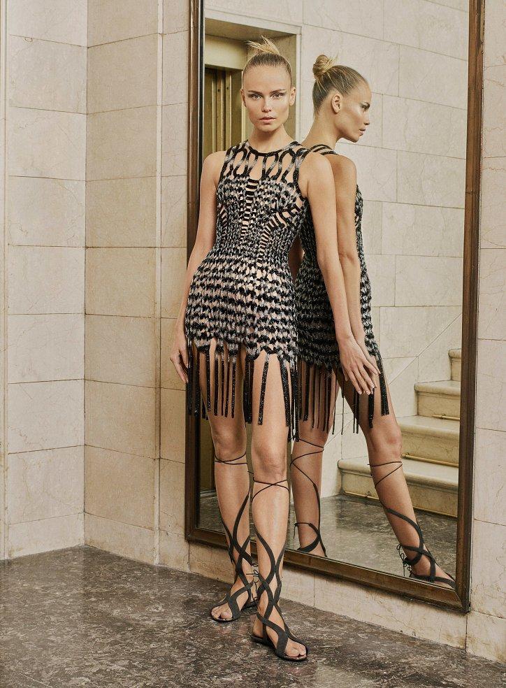 Пролетта на Atelier Versace Haute Couture 2017 снимка №3