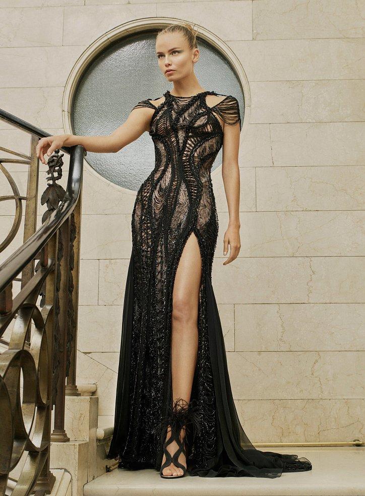 Пролетта на Atelier Versace Haute Couture 2017 снимка №4