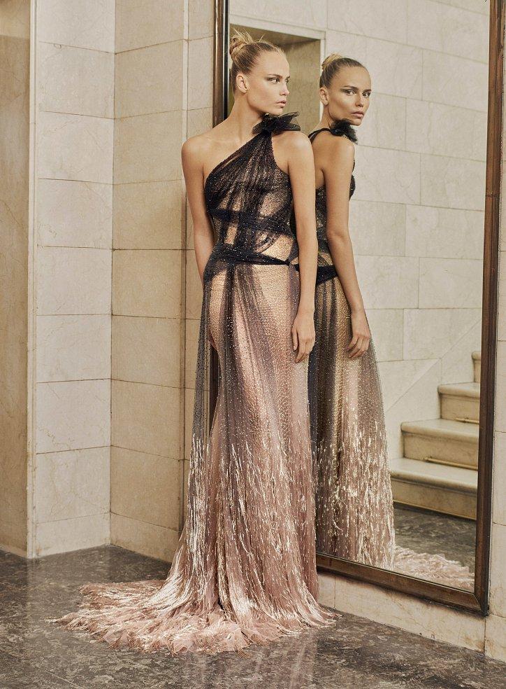 Пролетта на Atelier Versace Haute Couture 2017 снимка №5