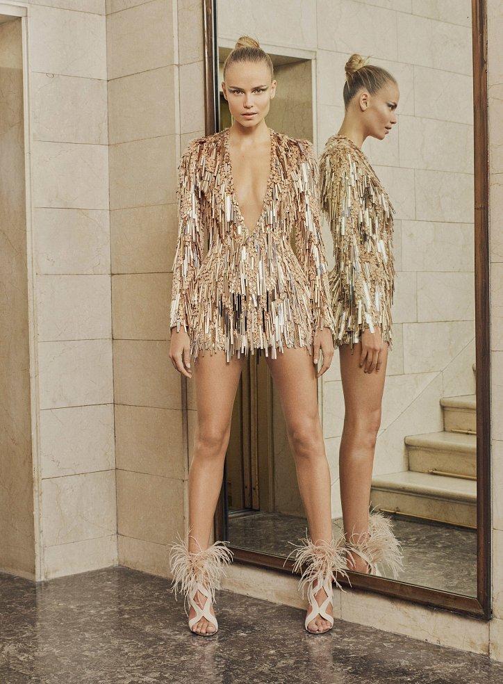 Пролетта на Atelier Versace Haute Couture 2017 снимка № 6
