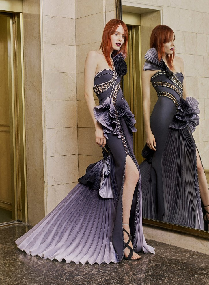 Пролет 2017 Atelier Versace Haute Couture снимка № 15