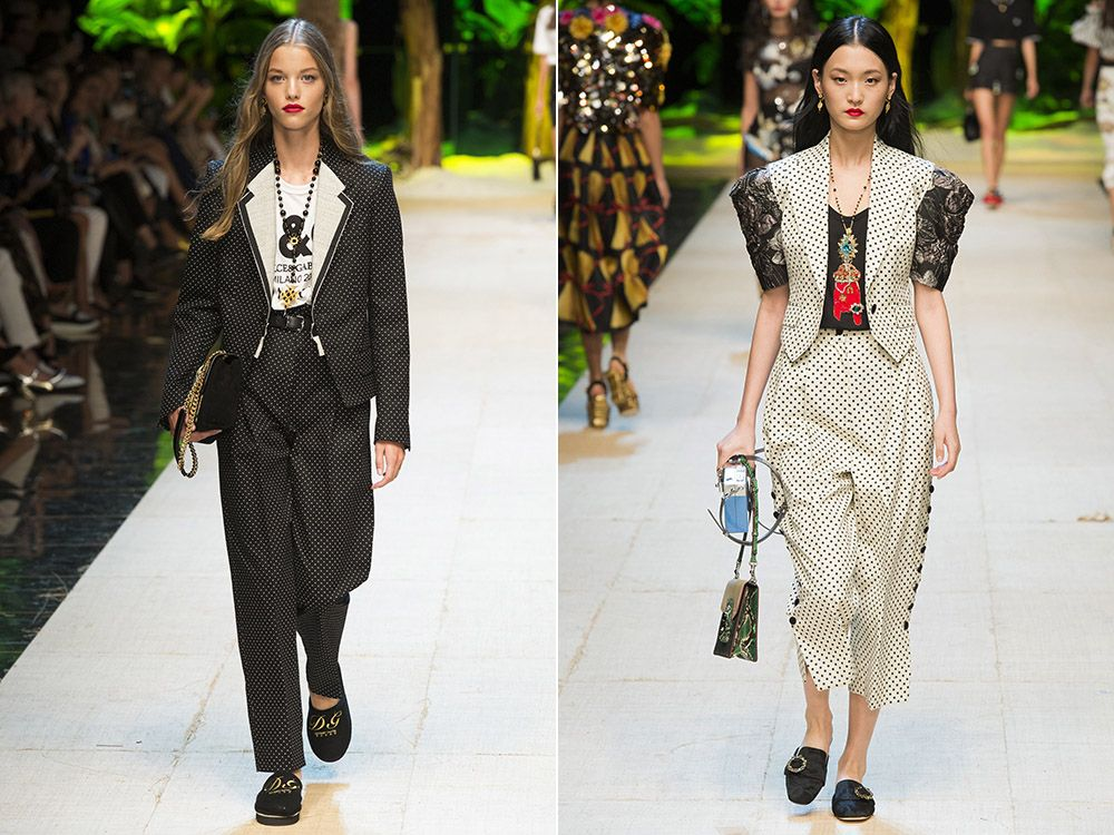 Pants suits spring-summer 2017