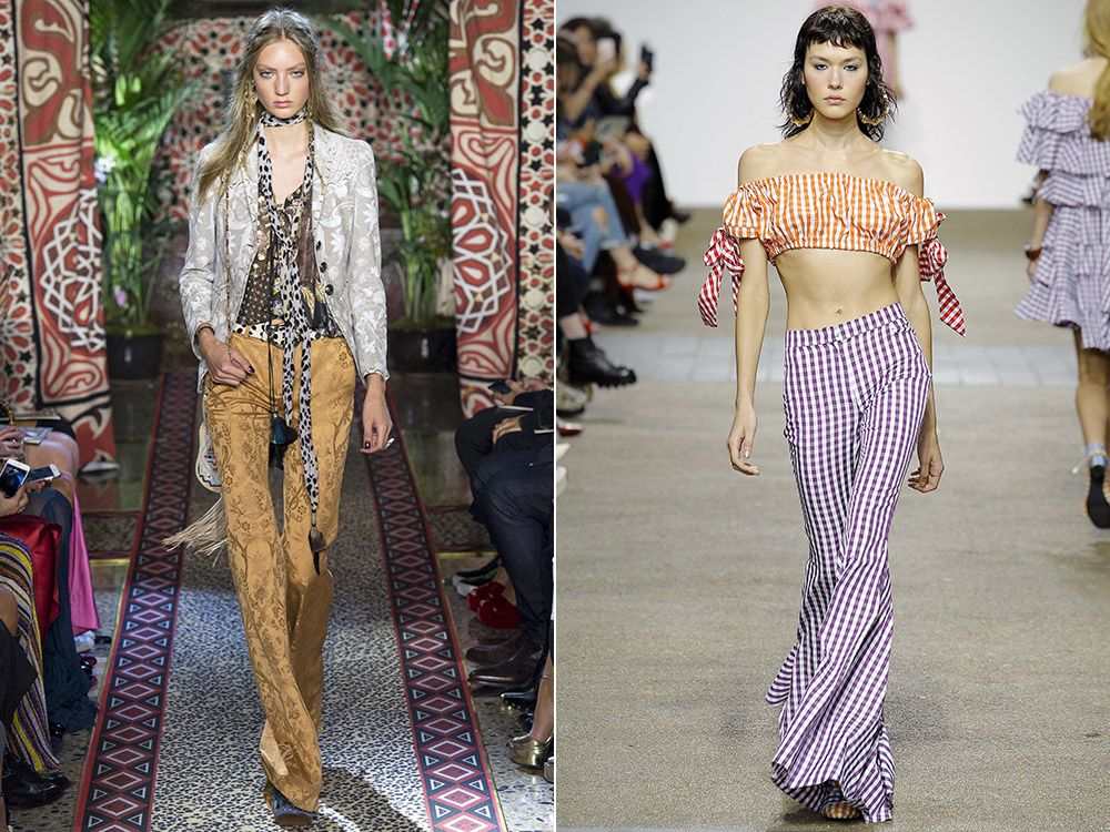 Flare pants spring-summer 2017