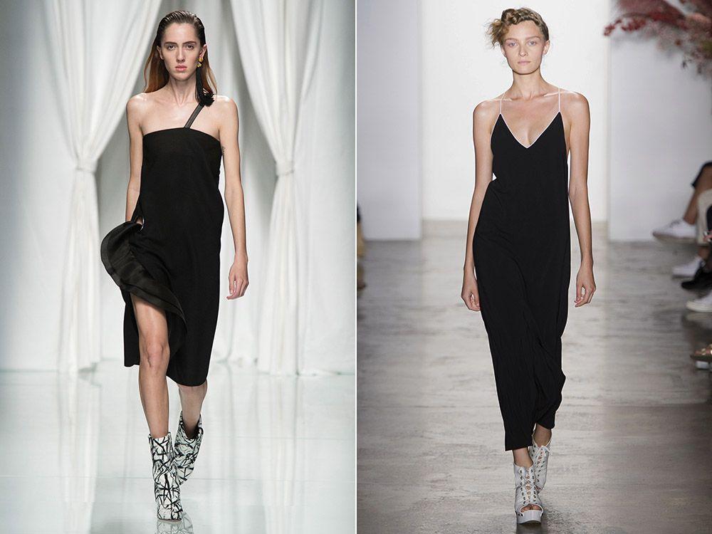 Black dresses spring-summer 2017