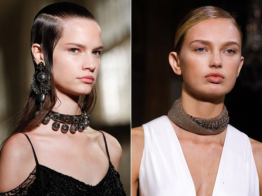 Chokers spring-summer 2017