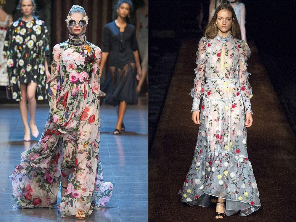 Floral Print: Dolce & amp; Gabbana, Etro