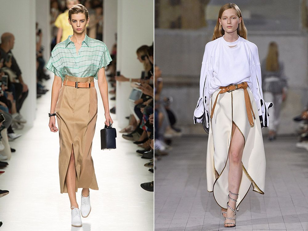 Long skirt spring-summer 2017
