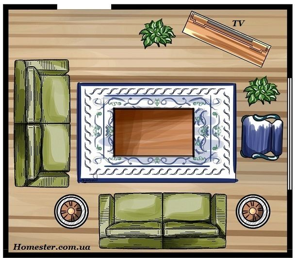 How to equip a small living room (with illustrations)