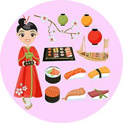 Рожден ден в японски стил