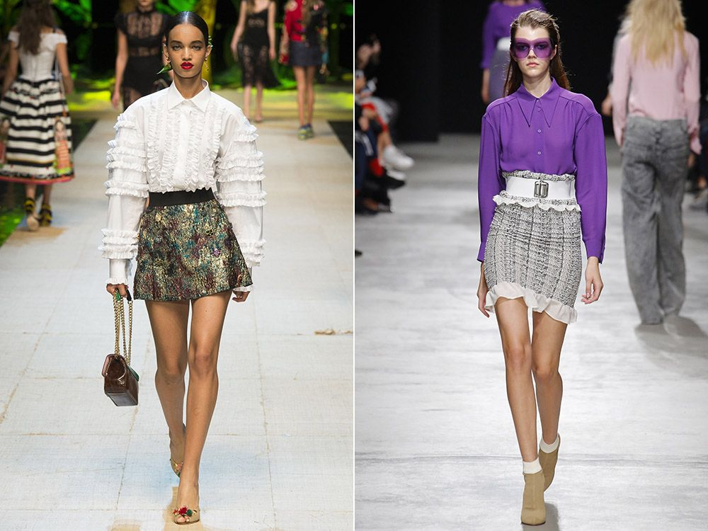 Miniskirt spring-summer 2017