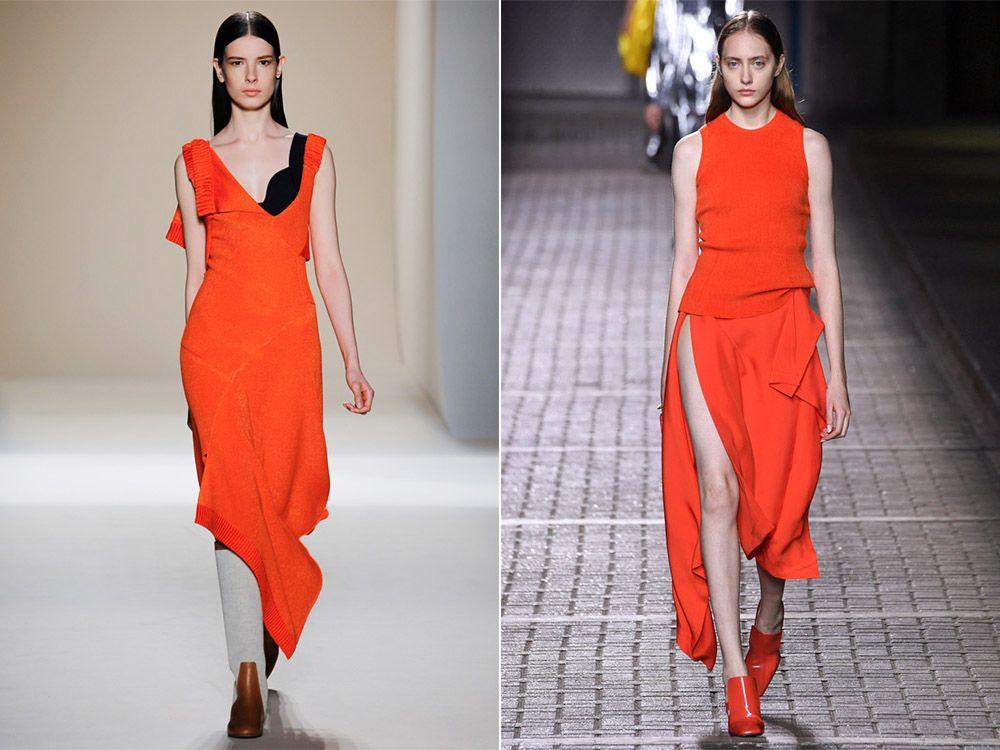 Моден цвят пламък пролет-лято