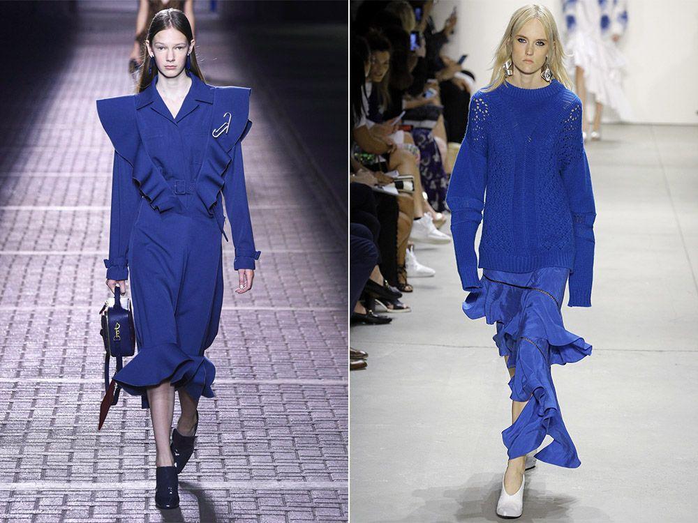 Моден цвят пролет-лято Lapis Blue