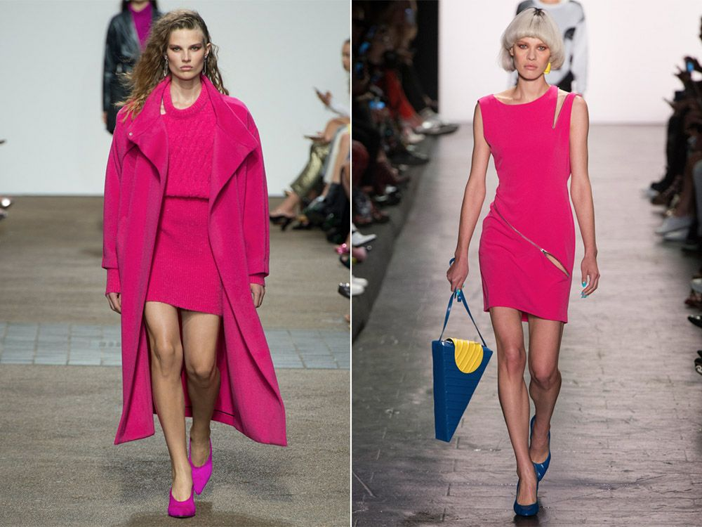 Моден цвят пролет-лято Розов равнец