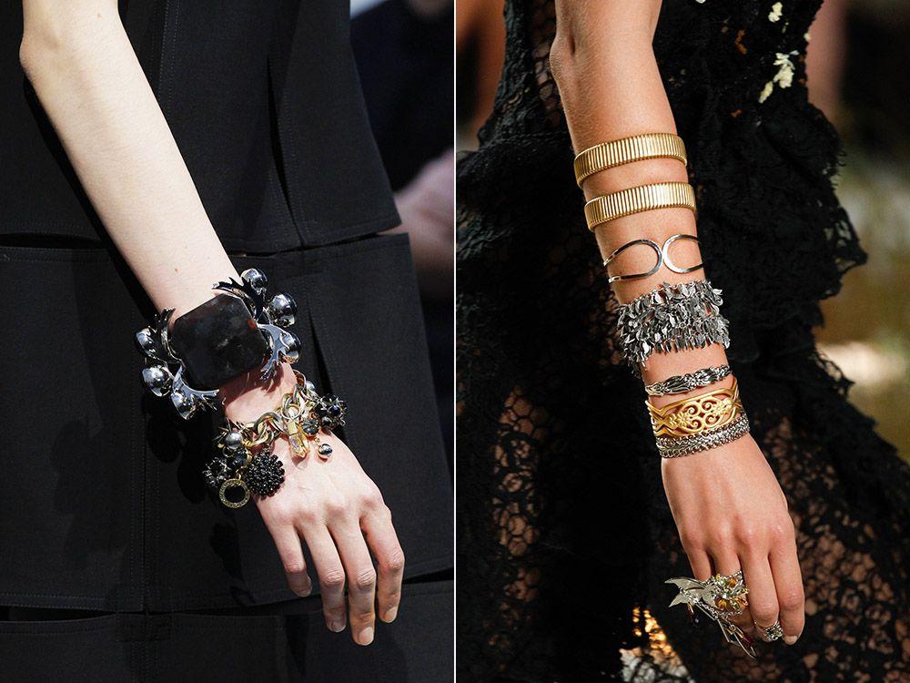 Several bracelets spring-summer 2017