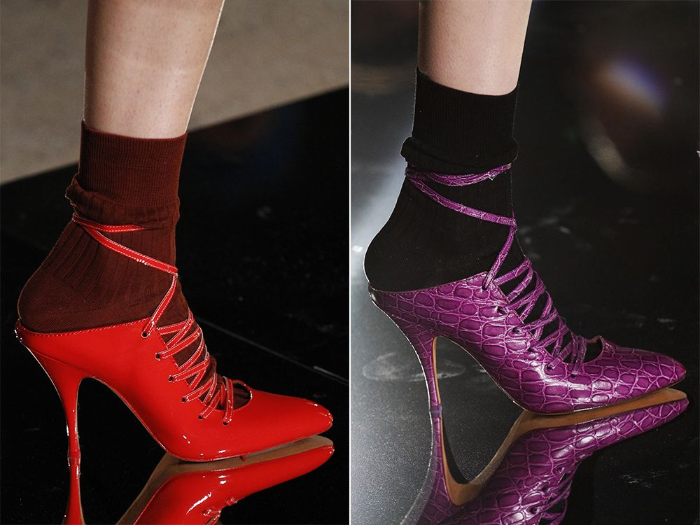 Shoes lace-up spring-summer 2017