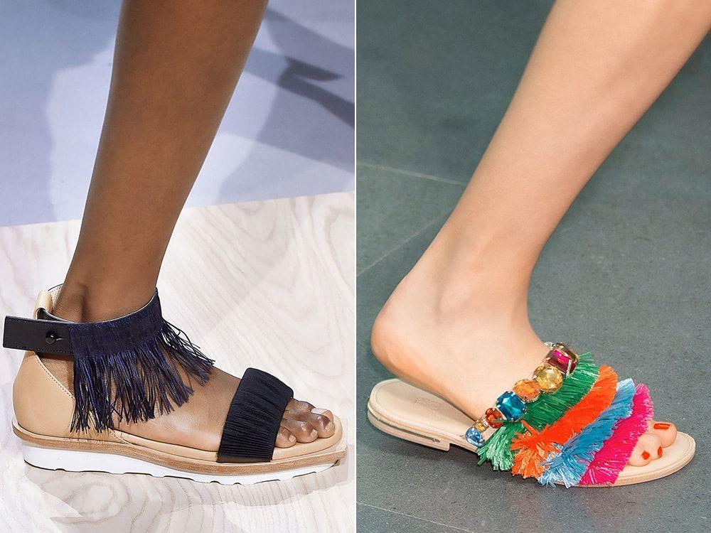 Облечени обувки: Issey Miyake, Stella Jean