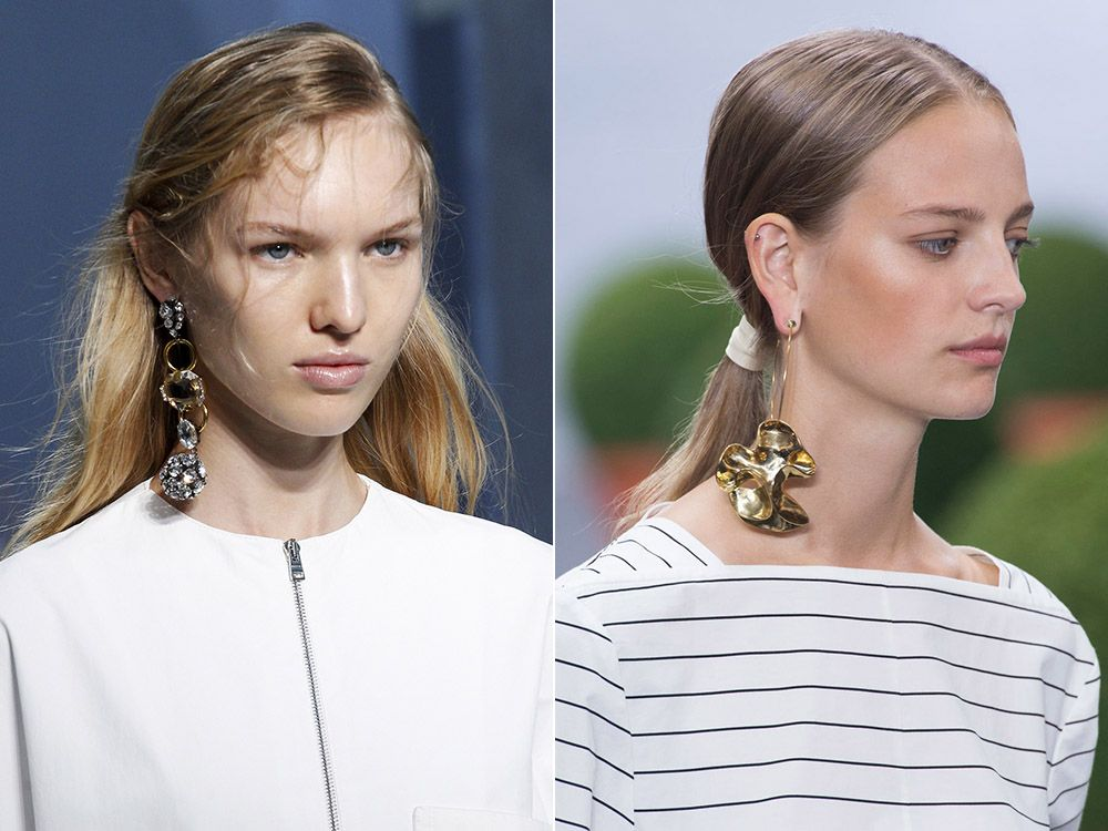One earring spring-summer 2017