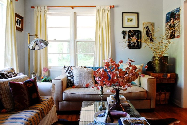 How to decorate the window curtains