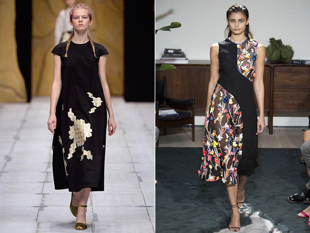 Dresses for full spring-summer 2017