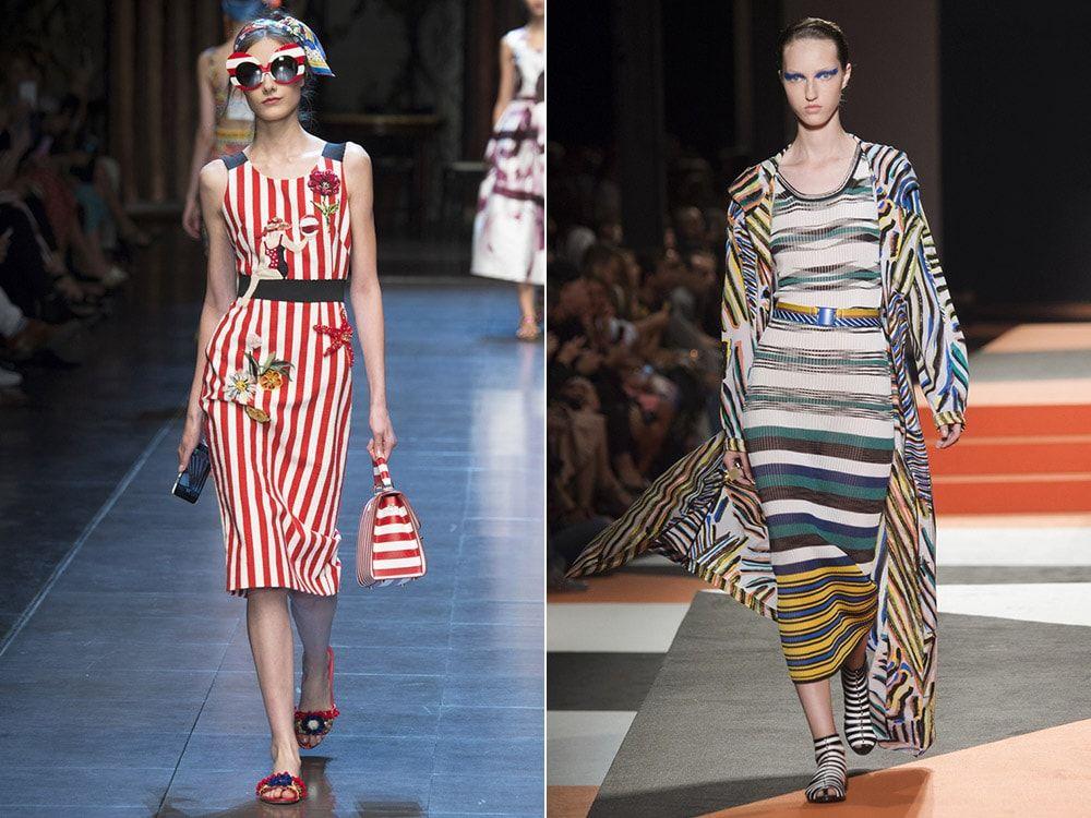 Strip: Dolce & amp; Gabbana, Missoni