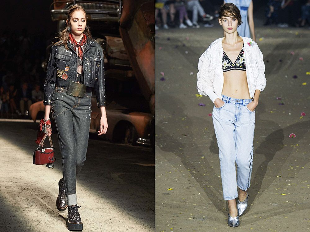Straight jeans spring-summer 2017