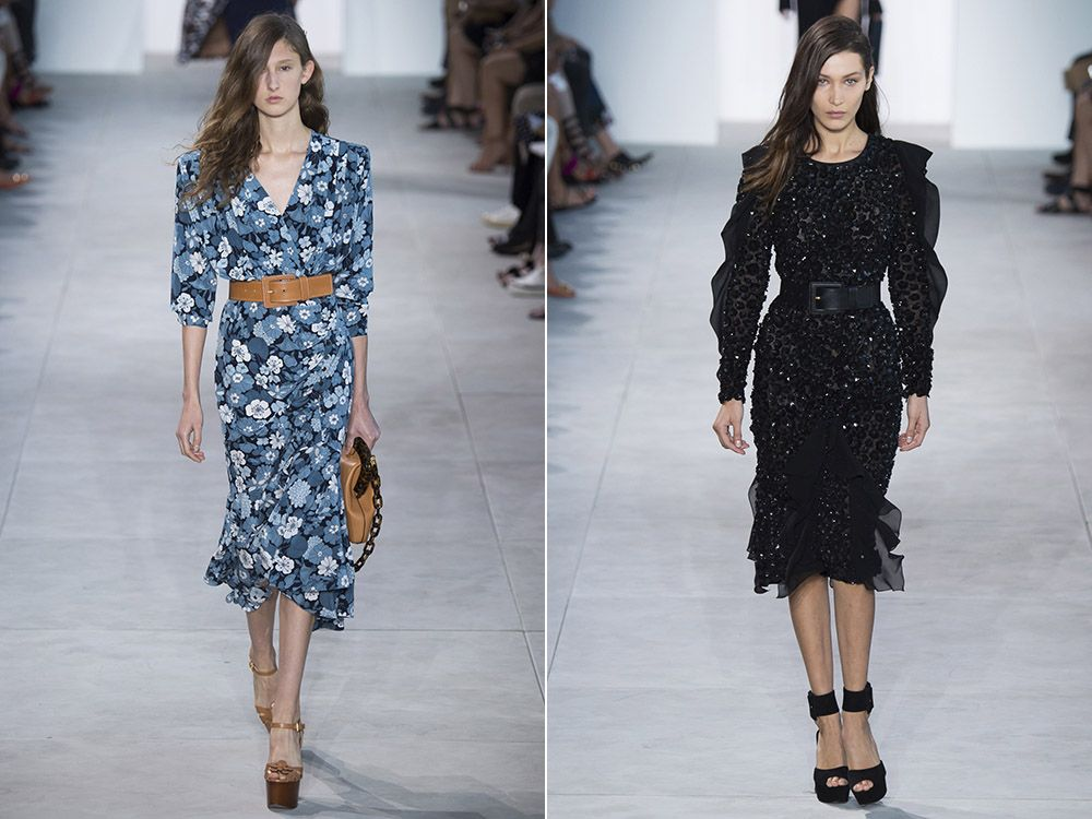 Retro dresses spring-summer 2017